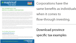 Download Province specific examples of corporations investing in flow-through